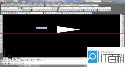 CAD画多段线之箭头?CAD画多段线之箭头cad一个怎么画画知道70圆长度图片