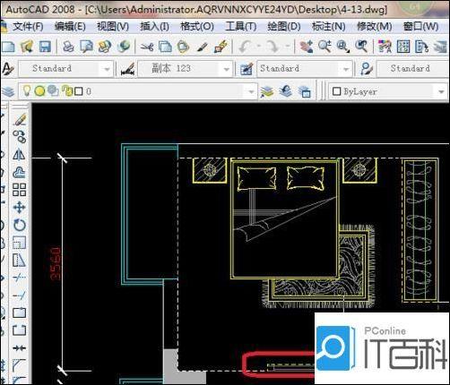 cad怎么画平面图 cad画房间平面图的实例教程