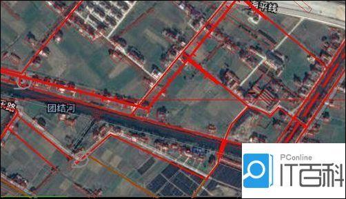 CAD地形图中载入谷歌地形图?CAD地形图cad为无法保存dxf格式图片